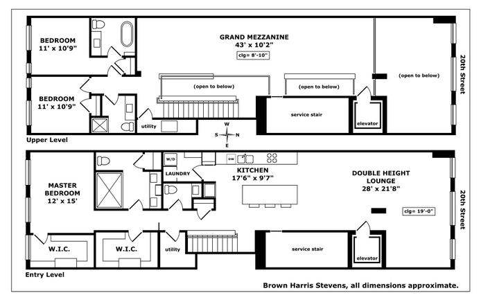 40 East 20th Street 5/6, Flatiron, NYC, $4,998,000, Web #: 20303950