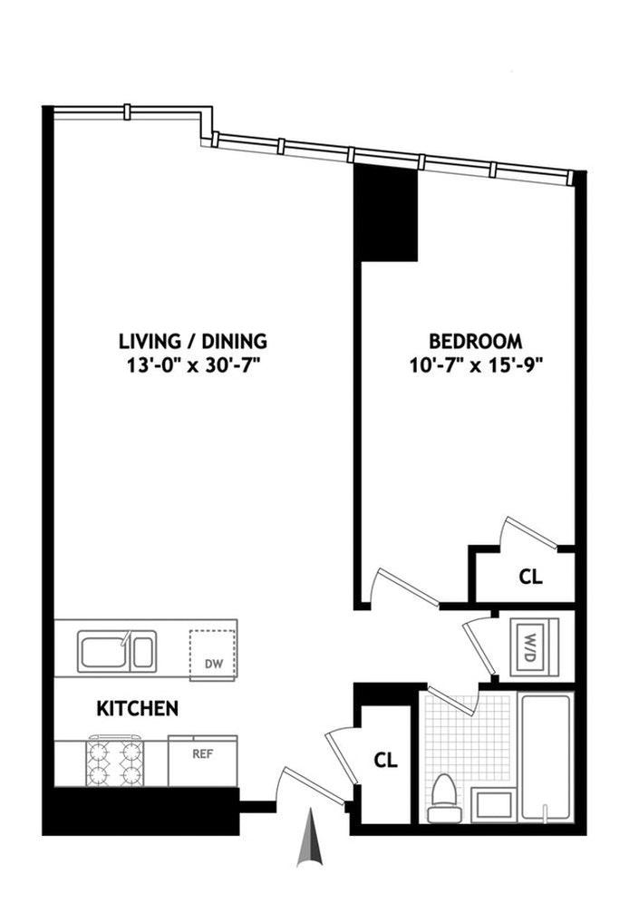 300 East 23rd Street 12C, Flatiron/Gramercy Park, NYC, $4,400, Web #: 20305904