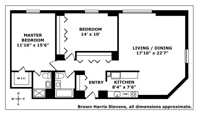 1641 Third Avenue 36H, Upper East Side, NYC, $1,199,000, Web #: 20310894