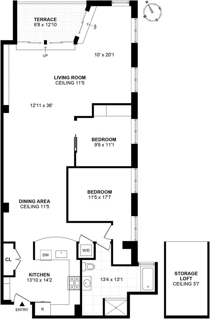 105 Lexington Avenue 3A, Clinton Hill, New York, $1,125,000, Web #: 20319639