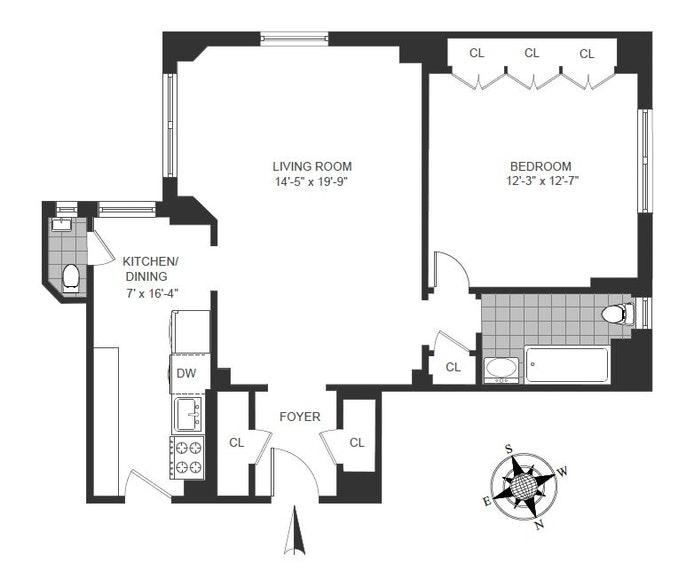 41 Fifth Avenue 15F, Greenwich Village, NYC, $1,580,000, Web #: 20320349
