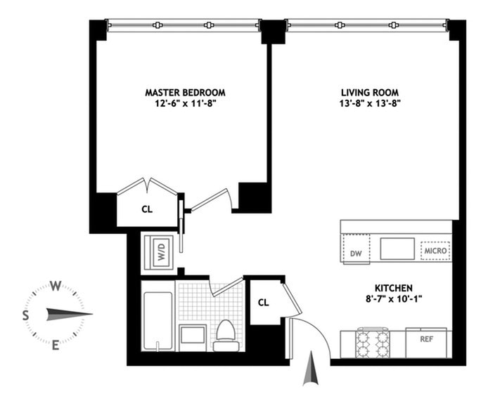 250 Bowery 4C, Greenwich Village/NOHO/Little Italy, NYC, $4,425, Web #: 20337326