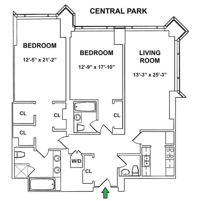 1 Central Park West 34C, Upper West Side, NYC, $9,995, Web #: 20339923
