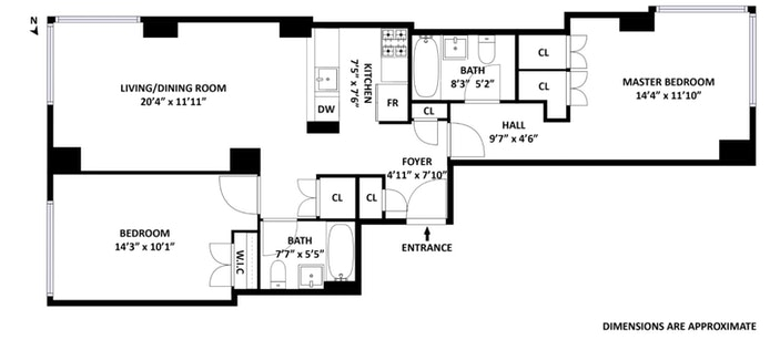 404 East 76th Street 12C, Upper East Side, NYC, $4,900, Web #: 20346320