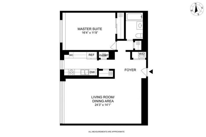 200 East 66th Street A405, Upper East Side, NYC, $5,600, Web #: 20346448