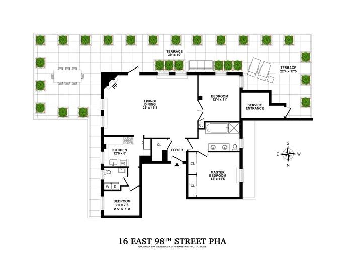 16 East 98th Street Pha, Upper East Side, NYC, $2,950,000, Web #: 20350456