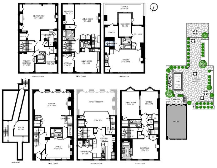 280 West 11th Street, West Village, NYC, $20,000,000, Web #: 20351242