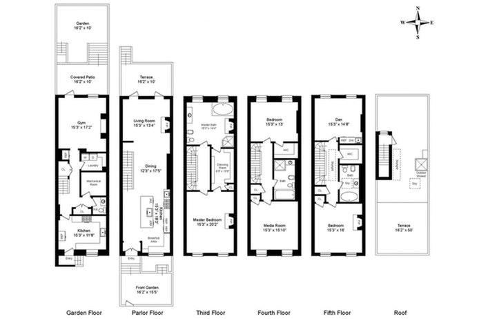 451 West 21st Street, Chelsea, NYC, $6,995,000, Web #: 20358073