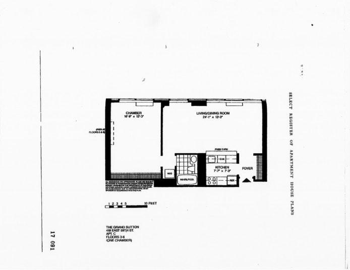 418 East 59th Street 4C, Midtown East, NYC, $745,000, Web #: 20361948