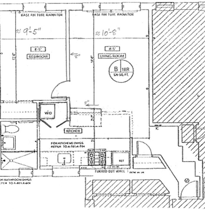 342 West 21st Street 2B, Greenwich Village/Chelsea, NYC, $3,200, Web #: 20370217