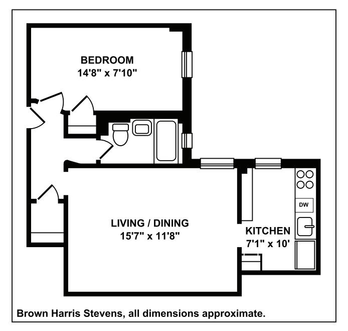81 Columbia Heights 33, Brooklyn, New York, $585,000, Web #: 20373213