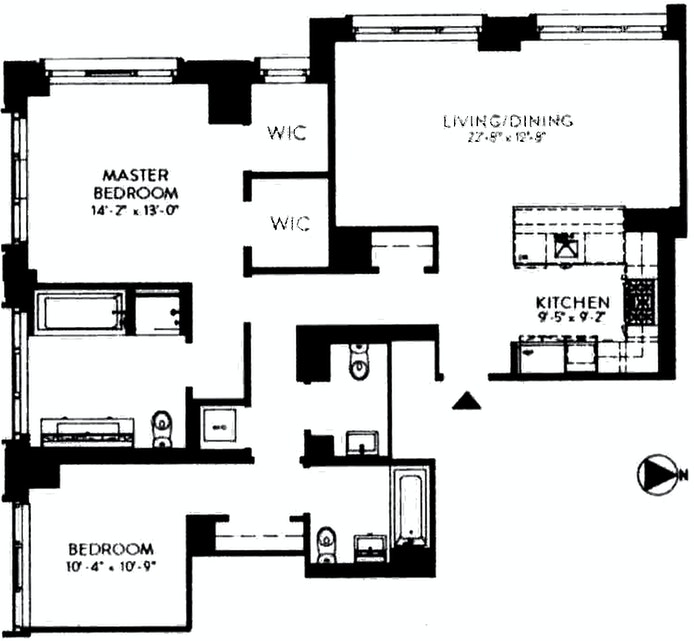 959 First Avenue 10D, Midtown East, NYC, $2,419,000, Web #: 20375976