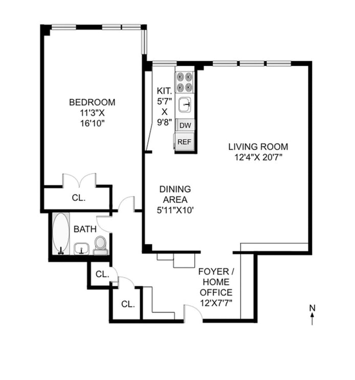 320 West 76th Street 6D, Upper West Side, NYC, $820,000, Web #: 20391002