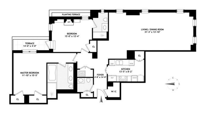 737 Park Avenue 10F, Upper East Side, NYC, $3,895,000, Web #: 20393265
