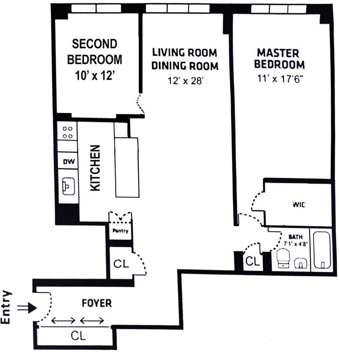 235 East 87th Street, Upper East Side, NYC, $849,000, Web #: 20395217
