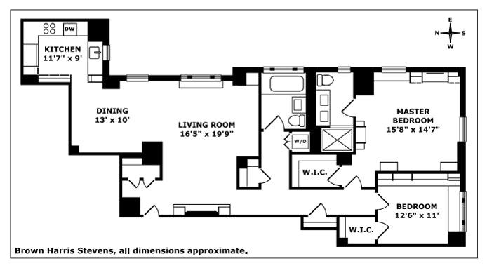219 West 81st Street 7B, Upper West Side, NYC, $2,250,000, Web #: 20413470