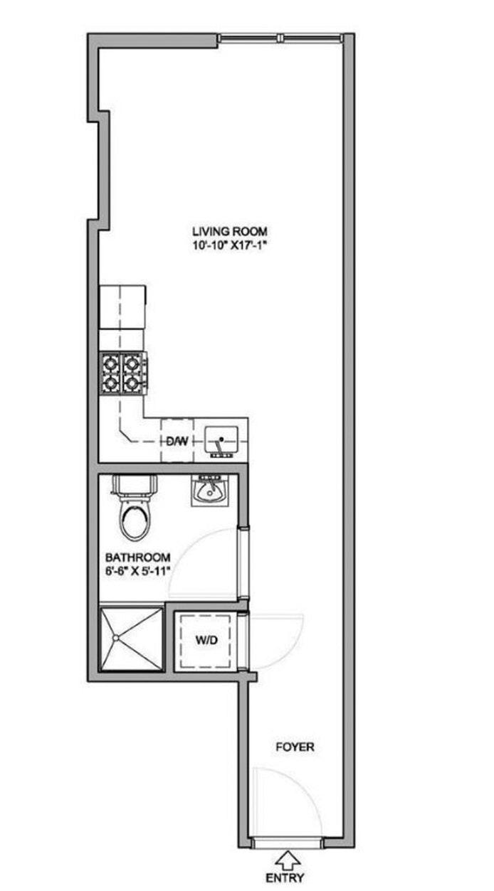 362 West 127th Street 2B, West Harlem, NYC, $495,000, Web #: 20417115