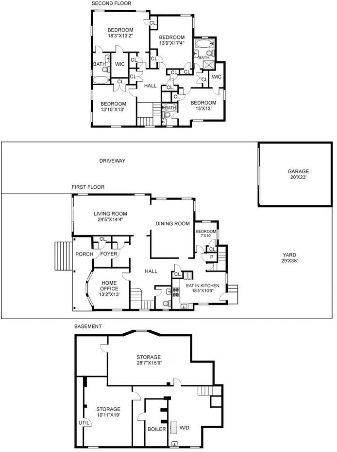 196 Argyle Road, Townhouse, Prospect Park South, New York, $7,800, Web #: 20421154