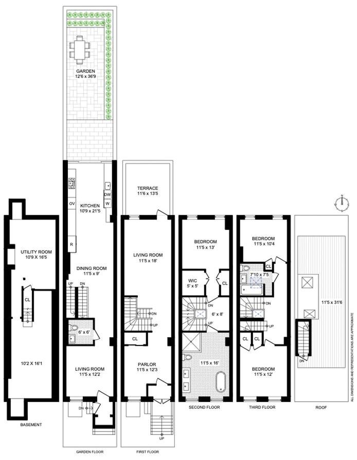 168 Saint James Place, Clinton Hill, New York, $2,750,000, Web #: 20429006