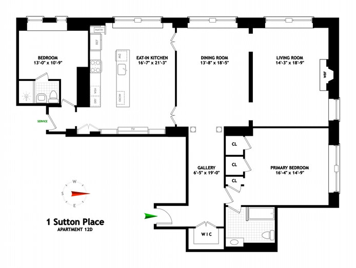 Sutton Place South, Midtown East, NYC, $4,500,000, Web #: 20429270