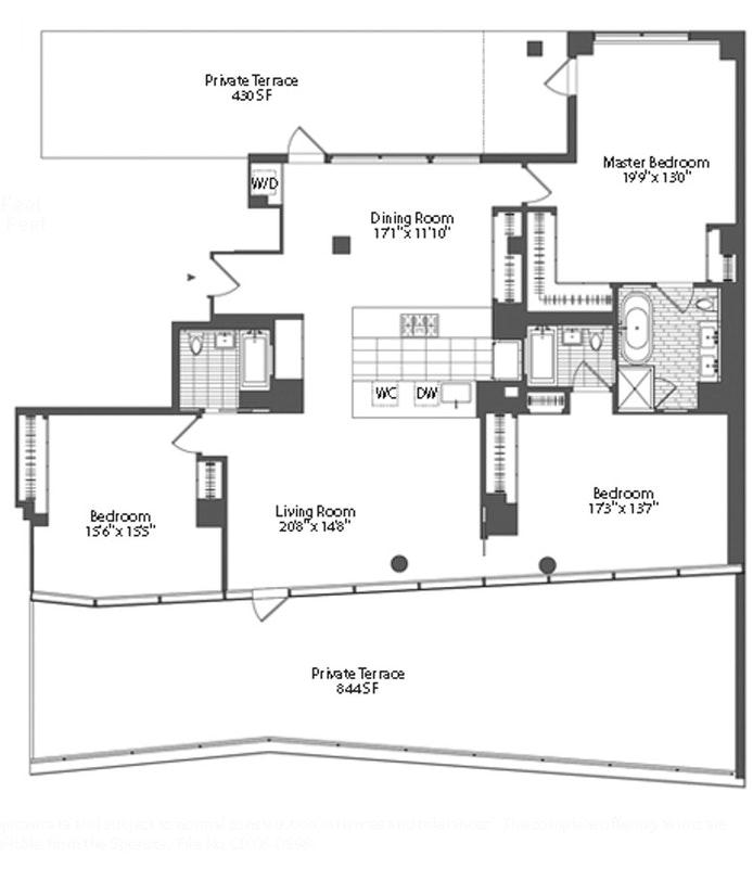 447 West 18th Street Ph9b, Chelsea, NYC, $17,500, Web #: 20431681