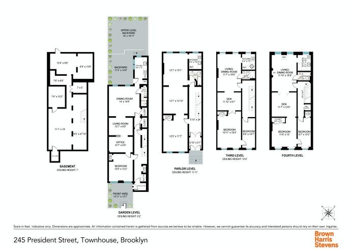 245 President Street, Carroll Gardens, New York, $3,400,000, Web #: 20434688