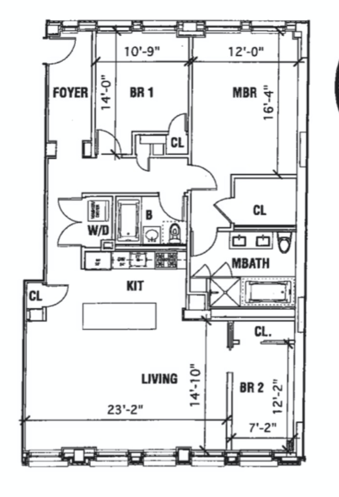 77 Reade Street 3B, Civic Center, NYC, $9,995, Web #: 20448451