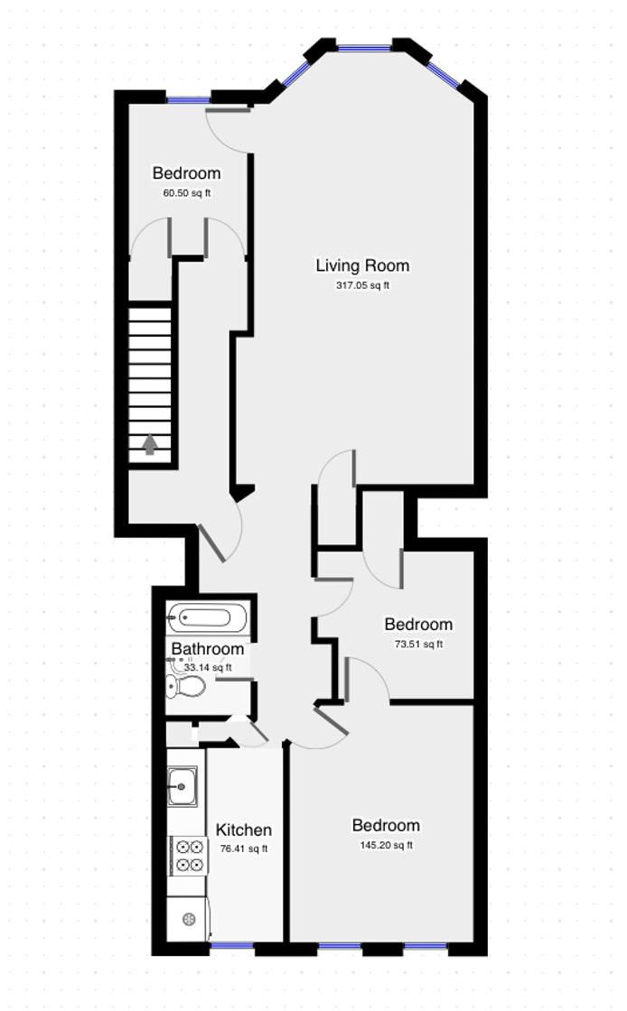 354 Ovington Avenue 2, Bay Ridge, New York, $2,500, Web #: 20460716