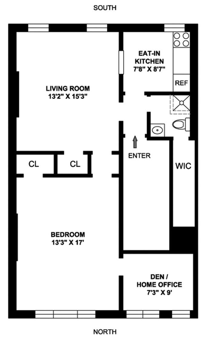 302 West 102nd Street 2Flr, Upper West Side, NYC, $2,600, Web #: 20481012