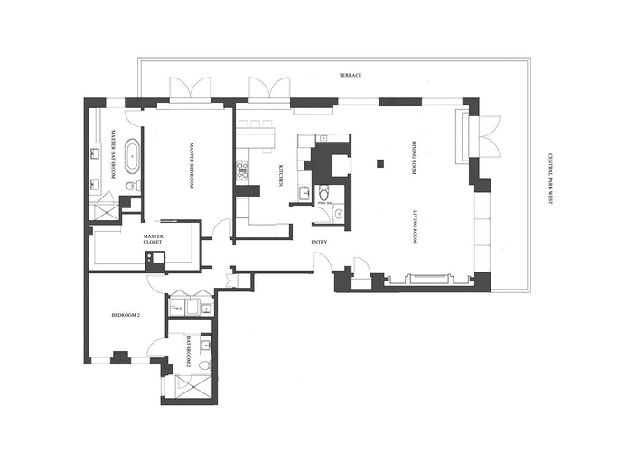 25 Central Park West 19Q, Upper West Side, NYC, $27,500, Web #: 20485842
