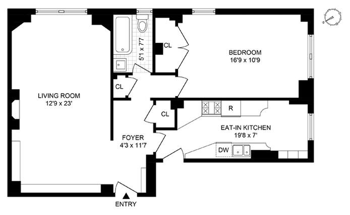 308 East 79th Street 8J, Upper East Side, NYC, $575,000, Web #: 20495915