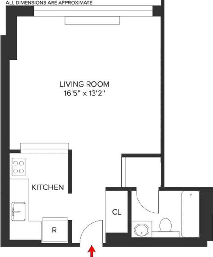127 East 30th Street 15C, Midtown East, NYC, $2,500, Web #: 20508349