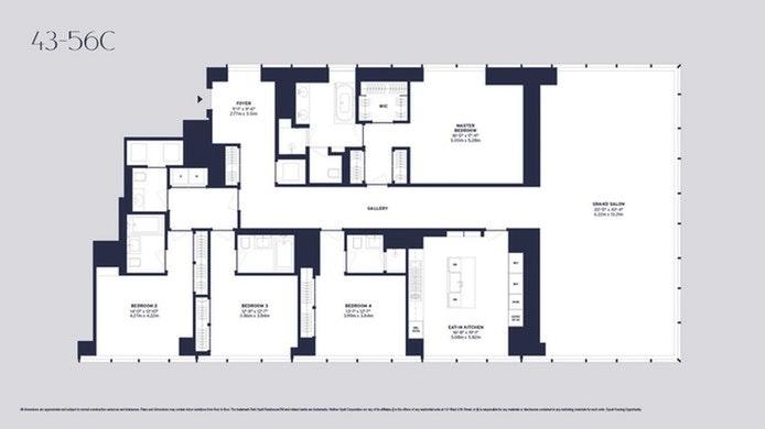 157 West 57th Street 44C, Midtown West, NYC, $39,000, Web #: 20540439