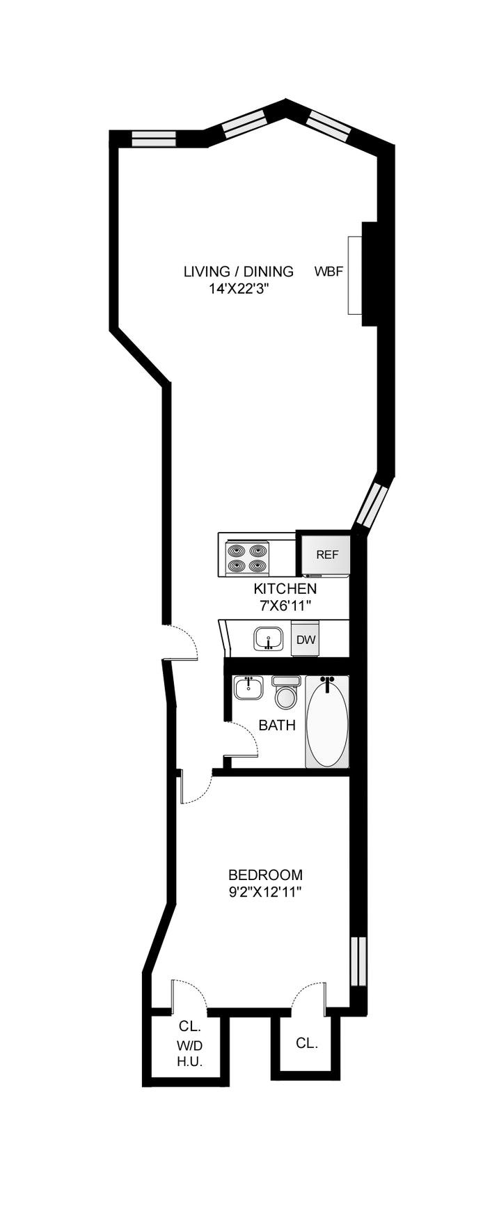 279 First Street 3B, Park Slope, New York, $599,000, Web #: 20547010