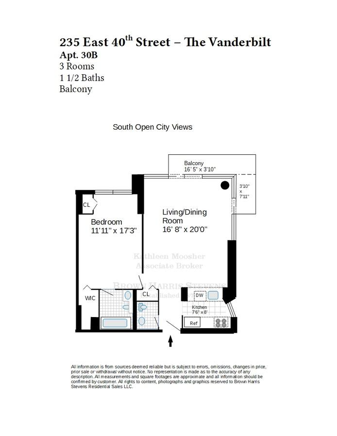 235 East 40th Street 30B, Midtown East, NYC, $865,000, Web #: 20555308