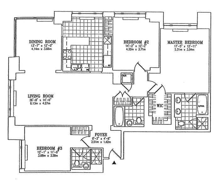 220 Riverside Boulevard 42A, Upper West Side, NYC, $11,500, Web #: 20605449