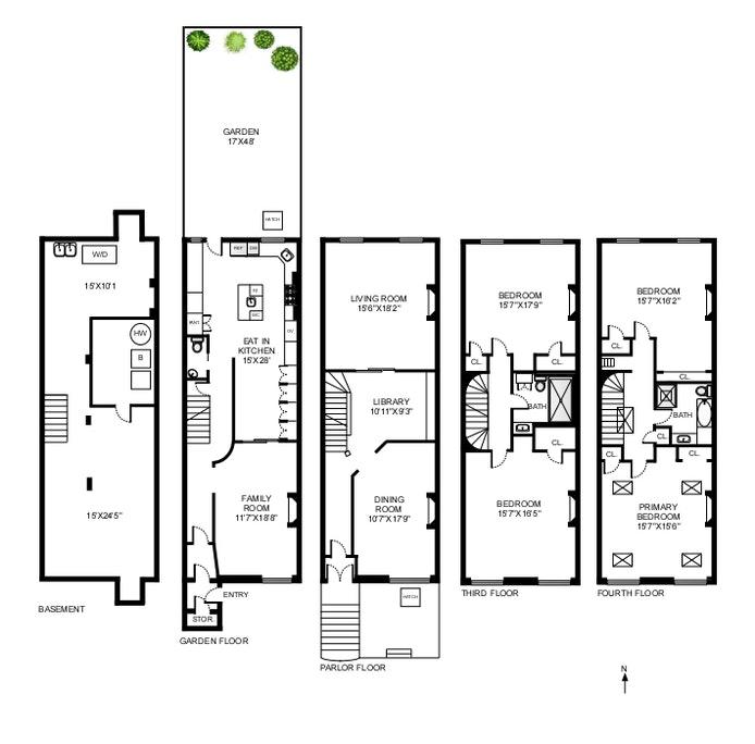 31 South Elliott Place, Brooklyn, New York, $3,975,000, Web #: 20681340