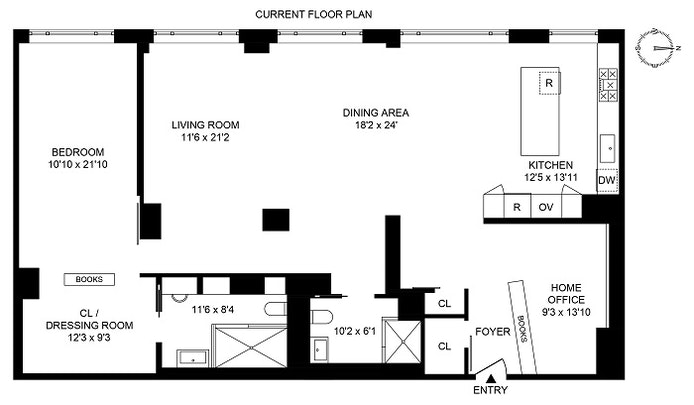 20 West 64th Street 32Hj, Upper West Side, NYC, $2,995,000, Web #: 20714830