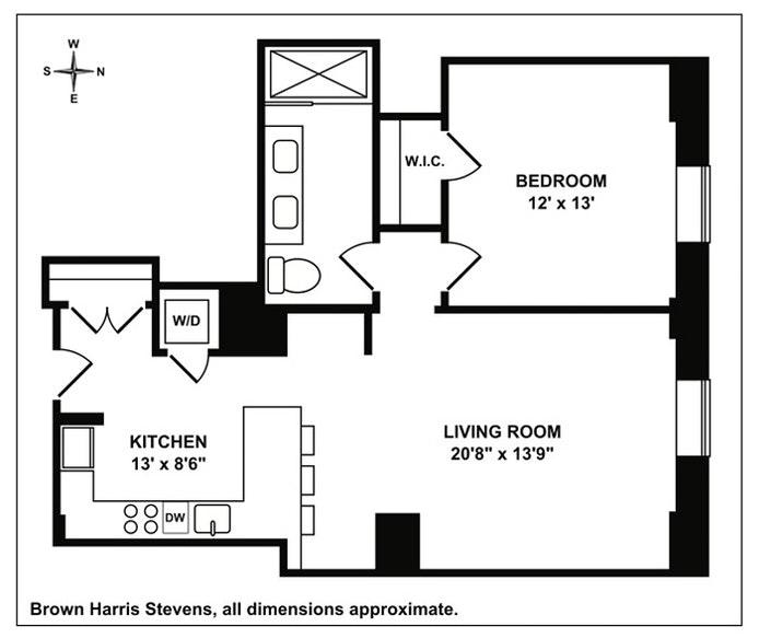 160 West 12th Street 35, Greenwich Village/Chelsea, NYC, $8,300, Web #: 20716410