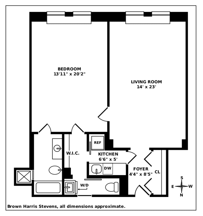 781 Fifth Avenue 1109, Upper East Side, NYC, $875,000, Web #: 20719754