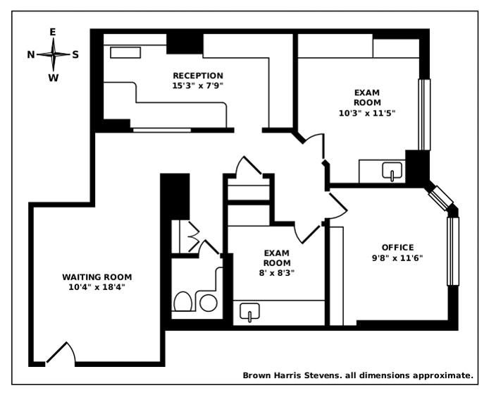 114 East 72nd Street 1B, Upper East Side, NYC, $425,000, Web #: 20736448