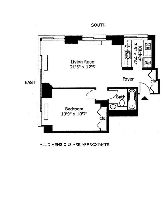 300 East 85th Street 2001, Upper East Side, NYC, $850,000, Web #: 20739799