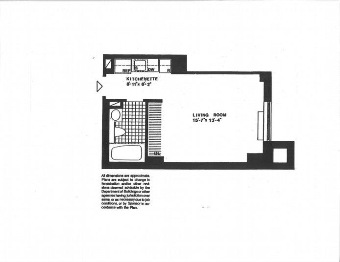 300 East 62nd Street 405, Upper East Side, NYC, $389,000, Web #: 20747693