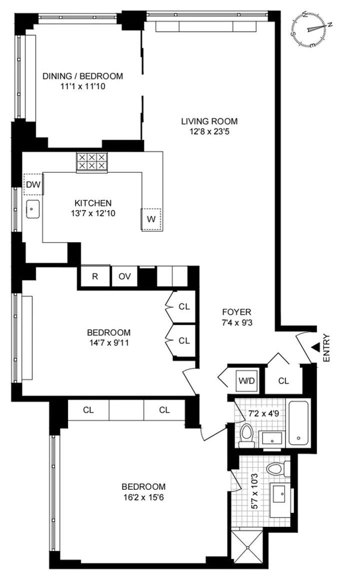 139 East 63rd Street 8B, Upper East Side, NYC, $1,150,000, Web #: 20748227