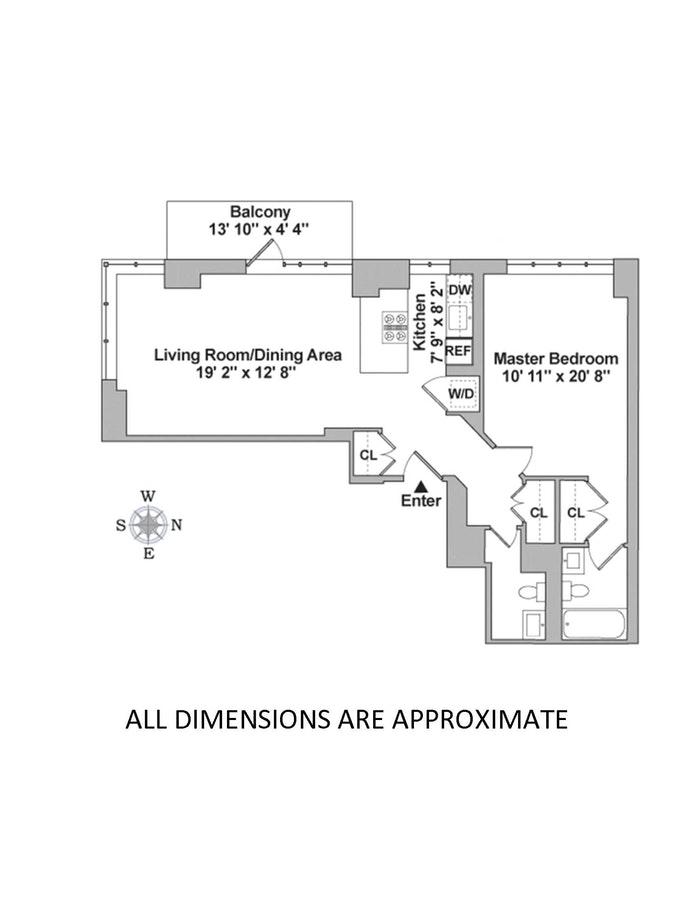 1438 Third Avenue 10A, Upper East Side, NYC, $1,099,000, Web #: 20748666
