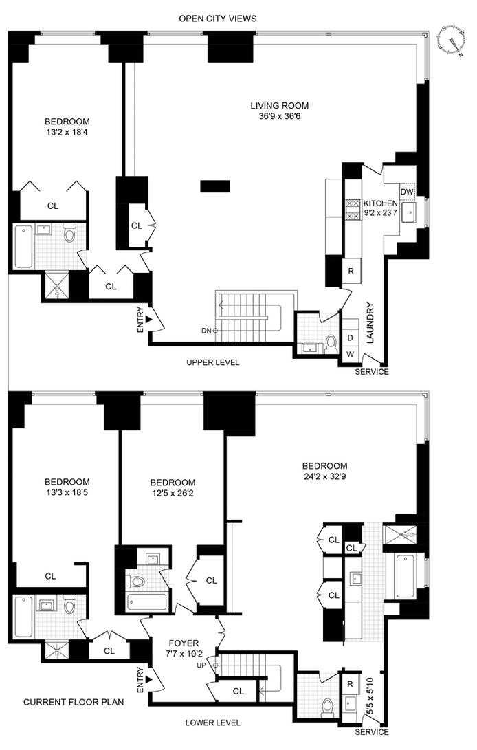 425 East 58th Street 42C/43C, Midtown East, NYC, $2,950,000, Web #: 20754312