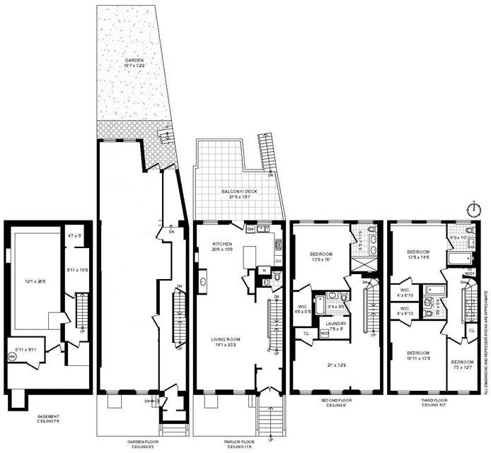 205 Dekalb Avenue, Townhouse, Brooklyn, New York, $12,500, Web #: 20759955