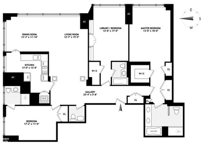 1 Central Park West 38A, Upper West Side, NYC, $19,000, Web #: 20768832