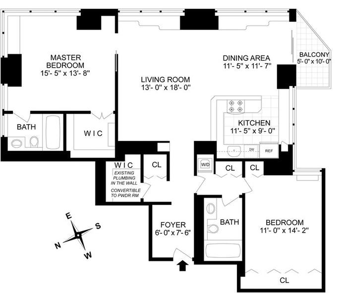 300 East 85th Street 3105, Upper East Side, NYC, $2,000,000, Web #: 20769734