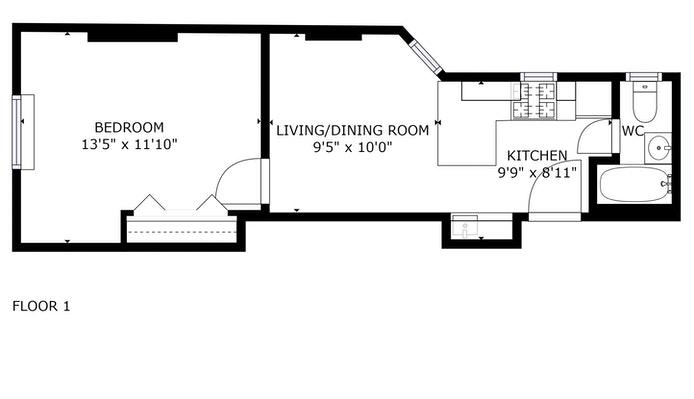 328 East 73rd Street, Upper East Side, NYC, $425,000, Web #: 20778240